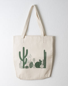 Cactus Cotton Tote Bag