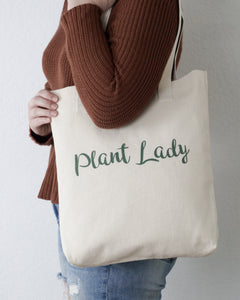 Plant Lady Tote Bag Designed By Kira Gulley