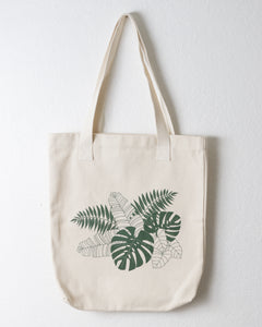 Tropical Cotton Tote Bag