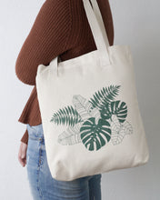 Tropical Cotton Tote Bag Designed By Kira Gulley