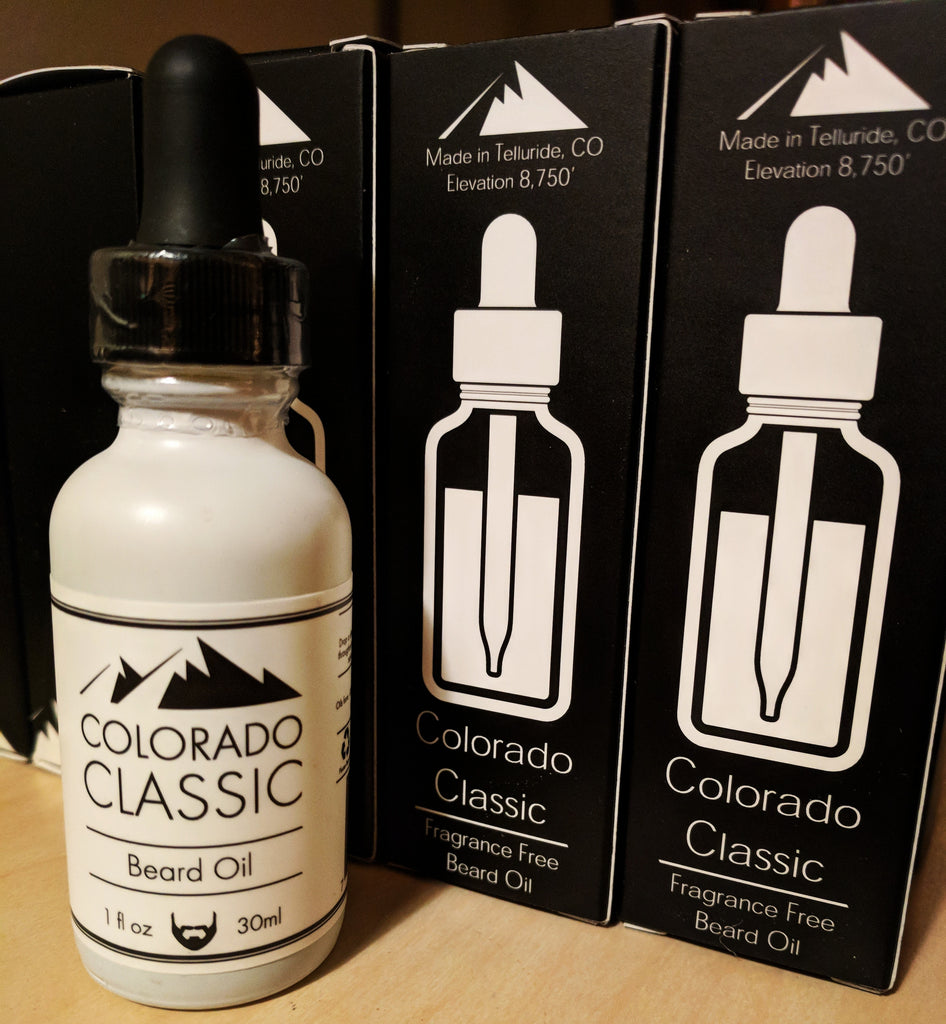 Colorado Classic Beard Oil