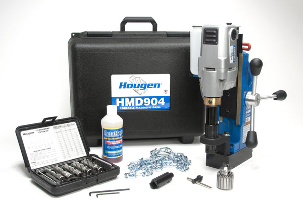 Hougen 904105 HMD904 Mag Drill - Fabricator's Kit Fractional - 115V