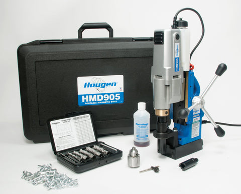 HOUGEN HMD905 MAG DRILL - FABRICATOR'S KIT FRACTIONAL - 115V - 0905105