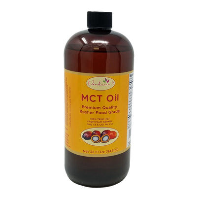 Verdana Food Grade MCT Oil - Palm Kernel derived - Kosher - 3 sizes