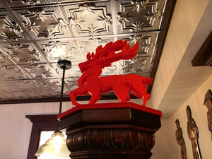 McArthys Red Stag Pub gets some 3D Printed Art
