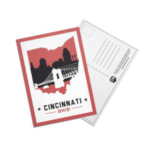 Cincinnati, Ohio Skyline Post Cards
