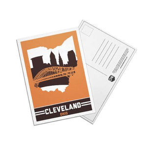 Cleveland, Ohio Skyline Post Cards