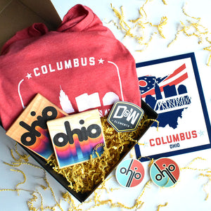 Columbus Red Gift Box