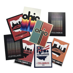 Columbus, Ohio Skyline Post Cards
