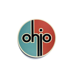 Retro Ohio Vintage Stickers
