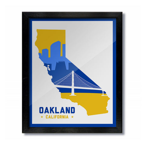 Golden State Warriors White Print