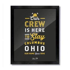 Here to Stay in Columbus, Ohio Print: Soccer