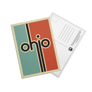 Retro Ohio Post Cards