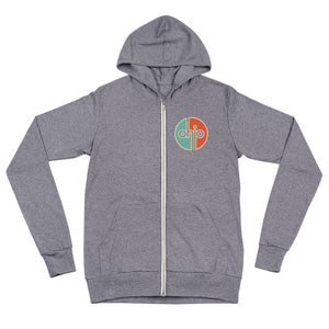 Ohio Retro Lightweight Zip Hoodie
