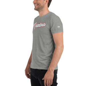 Columbus Ohio Script Super Soft T-Shirt