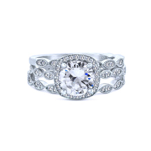 You are going to love this spectacular halo ring with stackable stunning 1.5K-Round-Stackable-Halo-Chandi-Diamond-Ring-by-Bobby-Schandra Jewelry seen on The Vampire Diaries