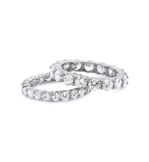 Medium or Large Full Circle Chandi Diamond Ring by Bobby Schandra