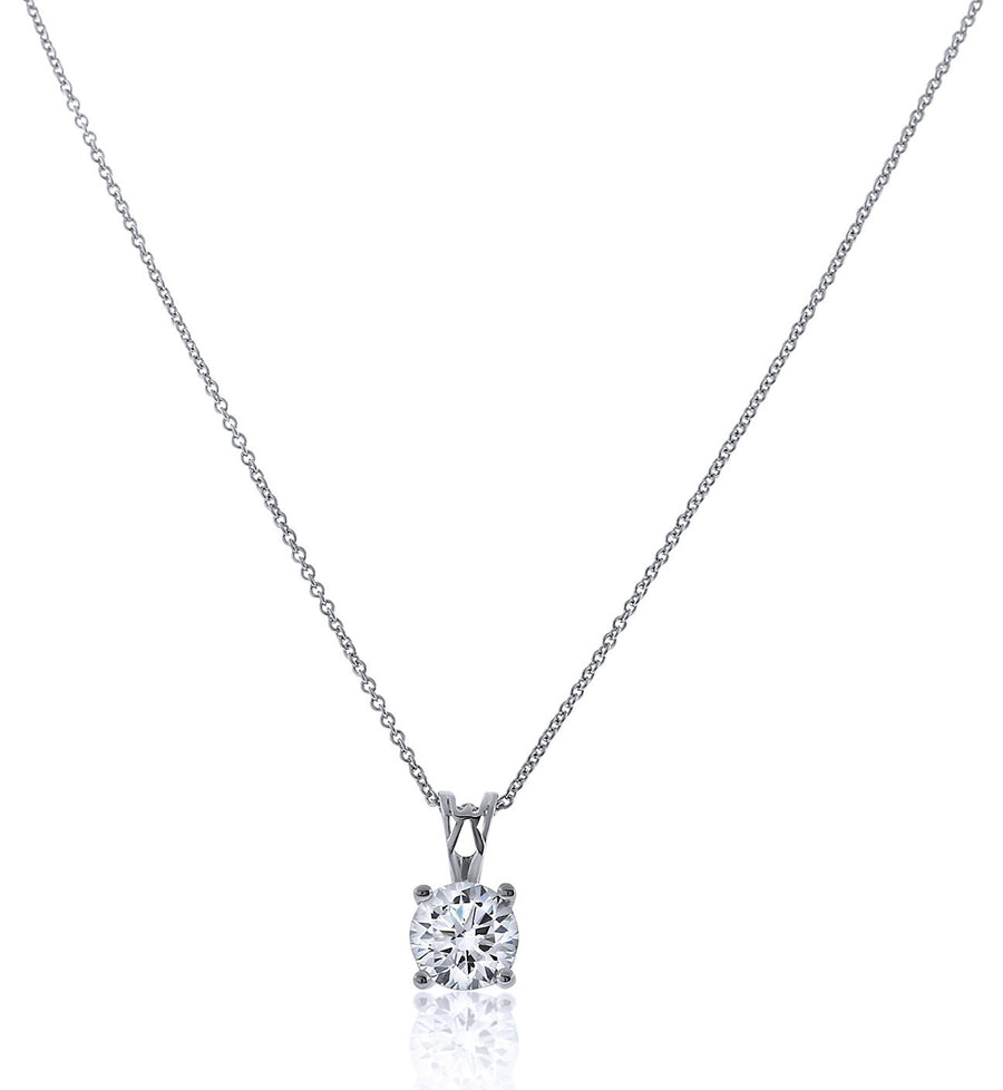 Chandi Diamond Brilliant Round Pendant Necklace by Bobby Schandra