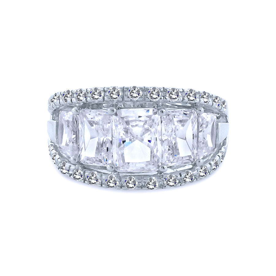 4 Baguette Chandi Diamond w/ Swarovski Crystal Border.jpg