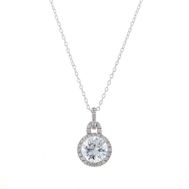 nadri pendant zirconia p zi crystal round cubic gold dillards necklace