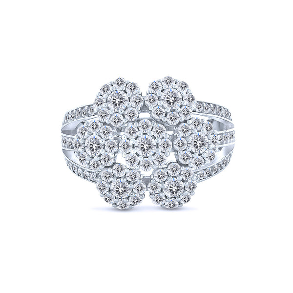 Classic-Silver-Cubic-Zirconia-5A-Grade-Flower-Chandi-Diamond-Ring-By-Bobby-Schandra