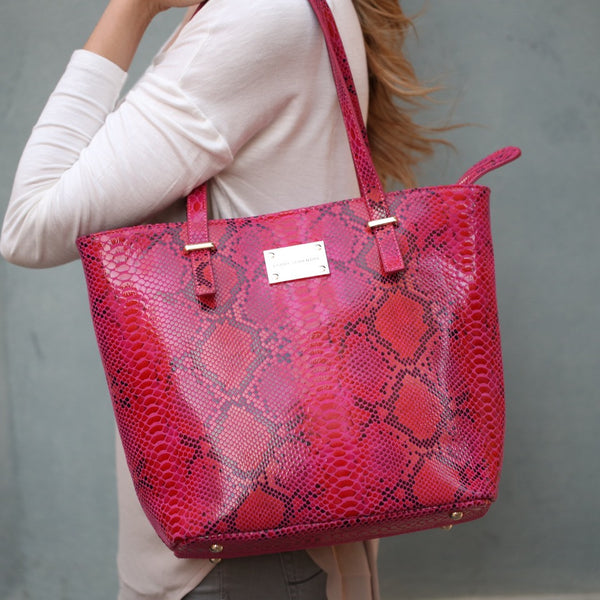 Genuine-Leather-Handbag-Tote-Pink