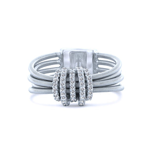 Love Knot Chandi Diamond (CZ) Ring