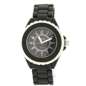 Black and silver Best Friend Link Watch