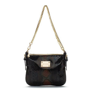 black-brown-leather-designer-messenger-handbag-crossbody-front