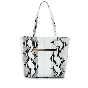 black-and-white-snake-print-leather-designer-tote-handbag
