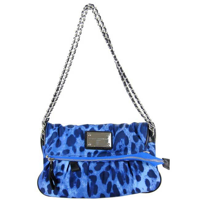 Blue Leopard Clutch Messenger Bag 2