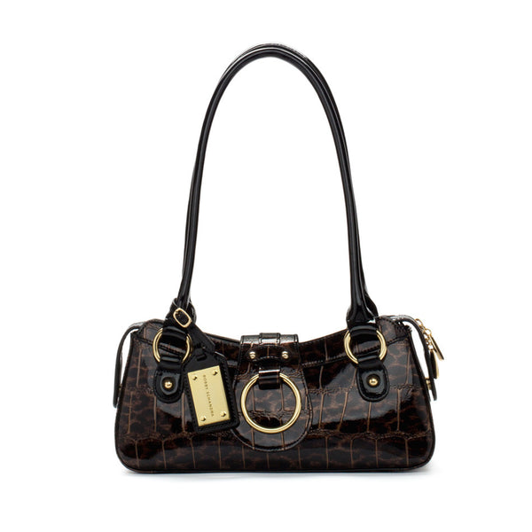 Monaco Shoulder Leopard Bag