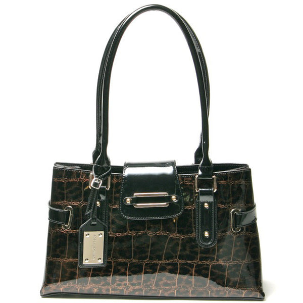 Capri Shoulder Leopard Tote Bag