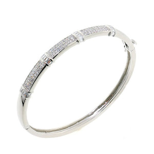 Chandi Diamond Lovely Lady CZ Crystal Bangle Bracelet by Bobby Schandra