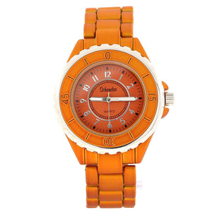 Orange Best Friend Link Watch