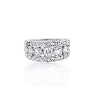round-silver-Bezel-cz-travel-ring-band-bobby-schandra