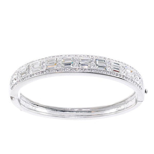 Chandi Diamond Swarovski Crystal Bangle Bracelet by Bobby Schandra
