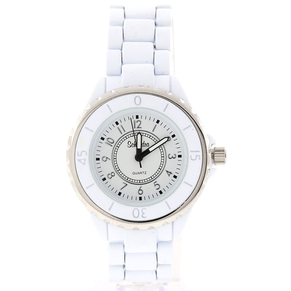 White Best Friend Link Watch