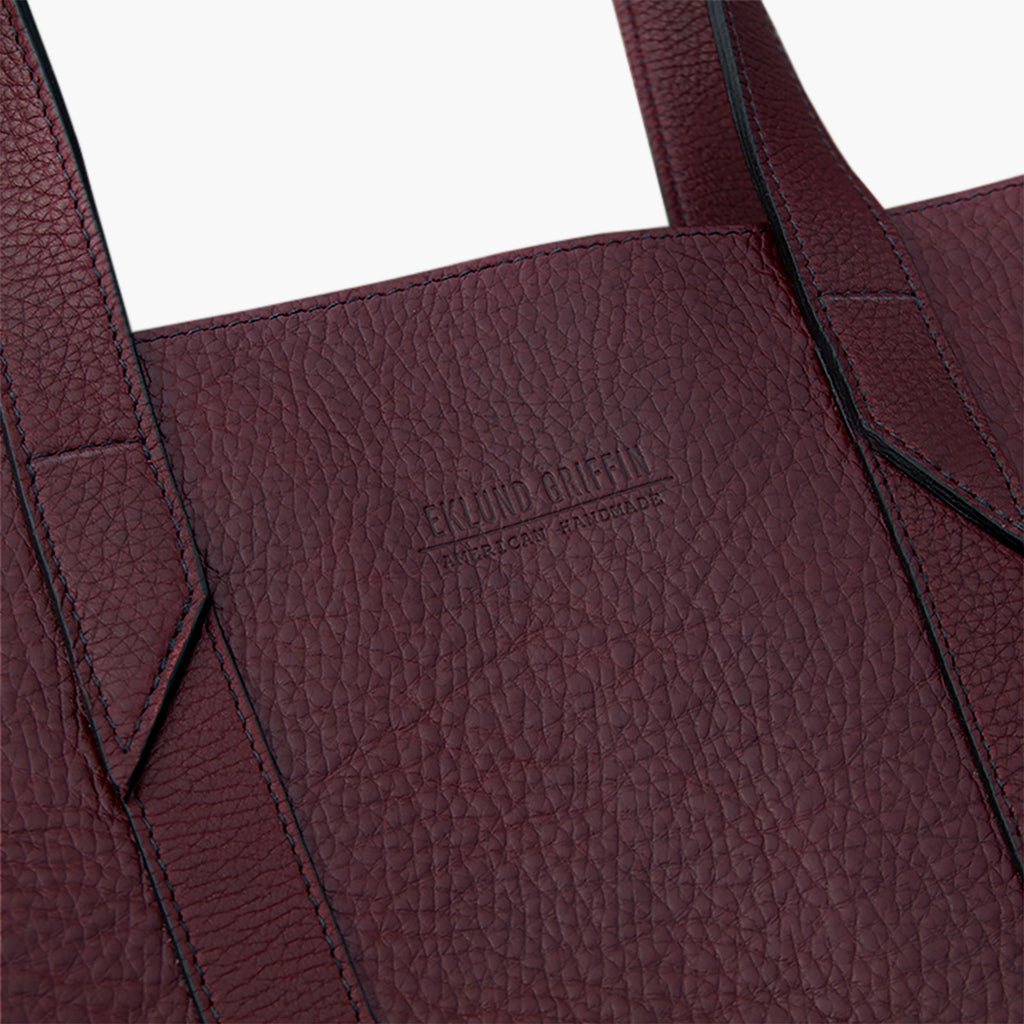 Infinity Tote in Burgundy
