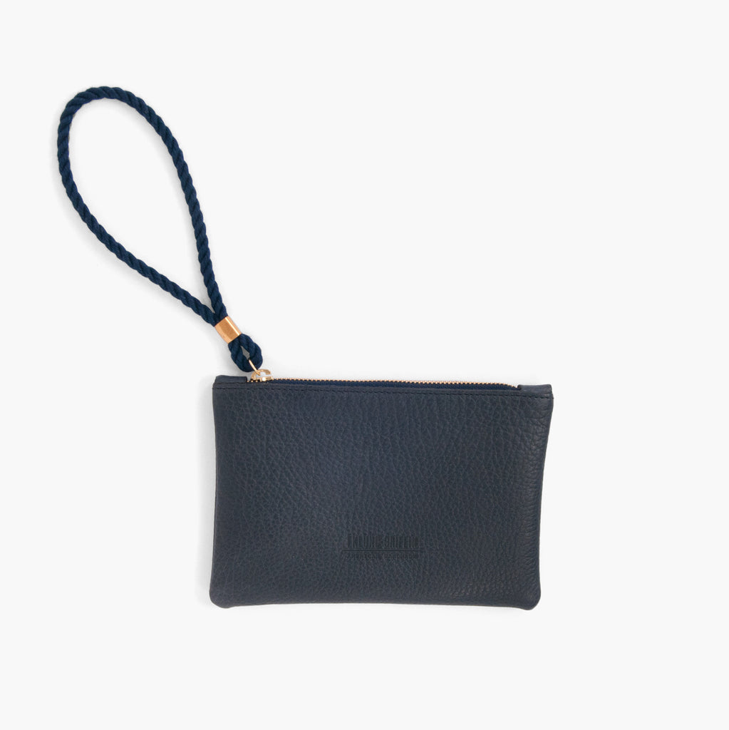 Rope Wristlet in Navy