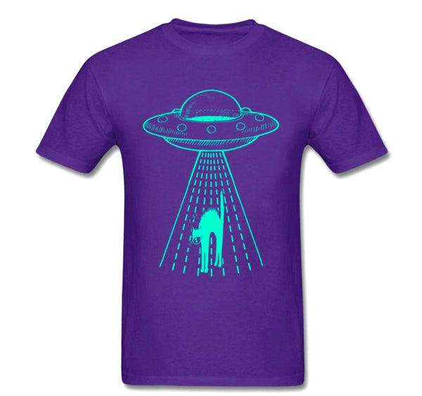 my cats been ABDUCTED UFO Tee