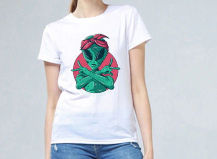 Proud Female ALIEN Tee