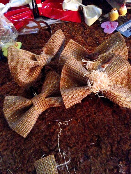 Birds Nest Hairbow