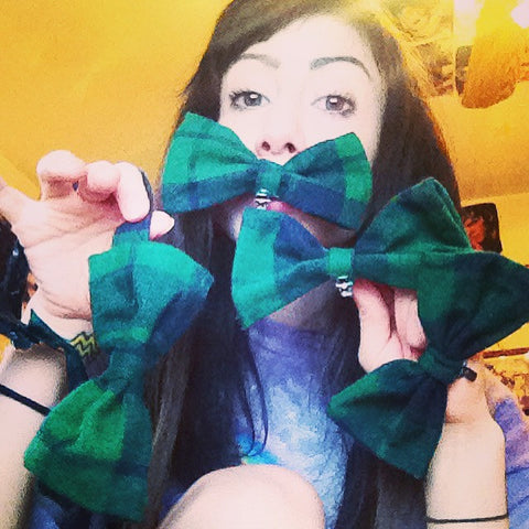 Flannel BOWTiES //BOWS