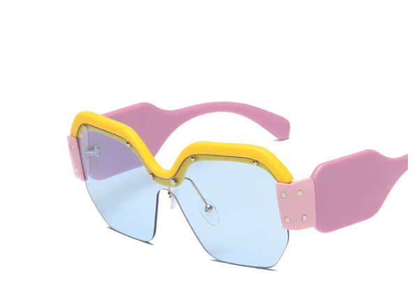 DAFT POP retro glasses