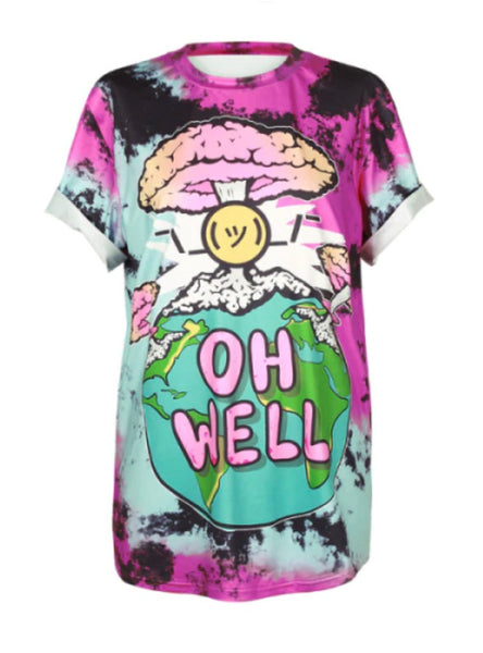 """OH WELL"" End of the World Tee"