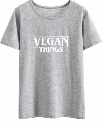 VEGAN Things (Stranger Things) Vegan T-Shirt