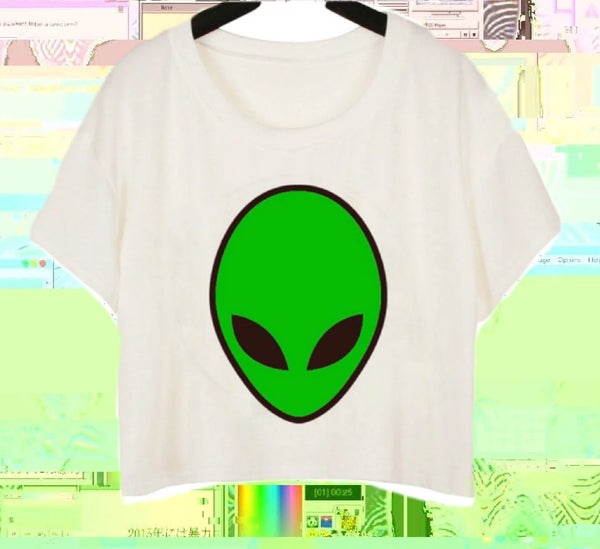 Alien Crop Top