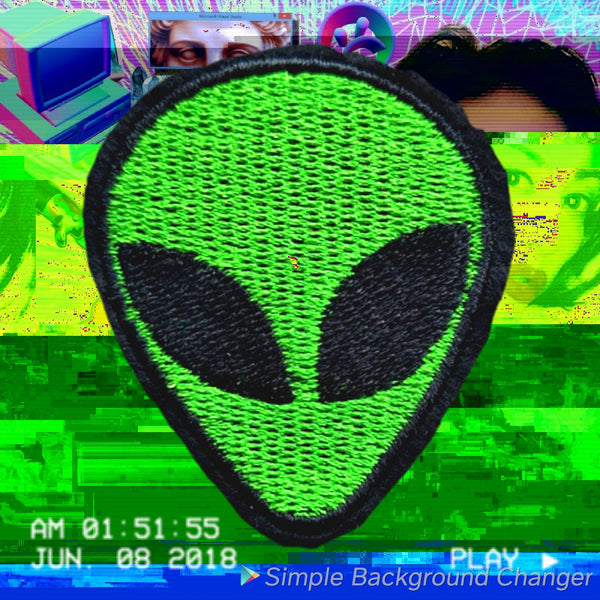 Alien Logo Patch