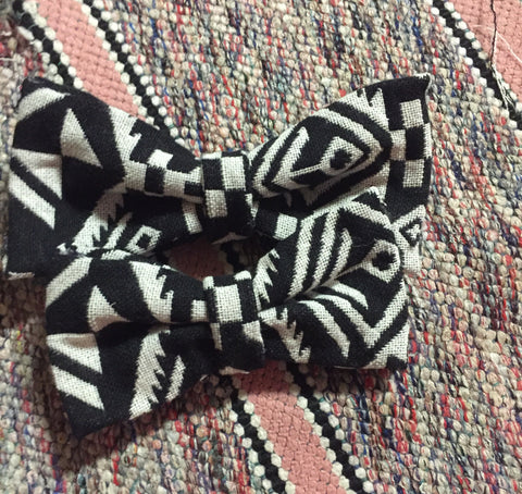 Black & White ABSTRACT Bowties